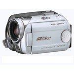 【中古】JVCケンウッド ビクター ハードディスクビデオカメラ Everio HDD20GB シルキーホワイト GZ-MG47-W