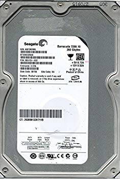 【中古】Seagate st3360320as P/N : 9bj13j-622?360?GB F/W : 3。CHL SU
