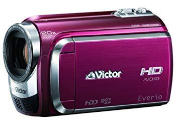 【中古】JVCケンウッド ビクター 60GBハードディスクムービー レッド GZ-HD300-R