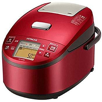 【中古】日立 炊飯器 5.5合 圧力スチームIH式 日本製 3段階炊き分け機能搭載 おいしい少量炊き 蒸気カット RZ-AX10M R