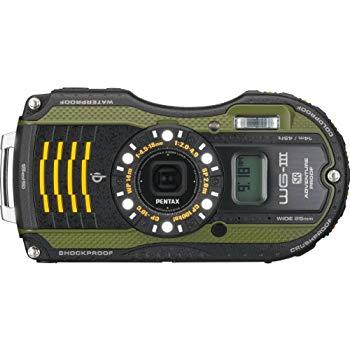 【中古】PENTAX 防水デジタルカメラ PENTAX WG-3 オレンジ 1cmマクロ マクロスタンド付属 LEDライト PENTAX WG-3OR 12696