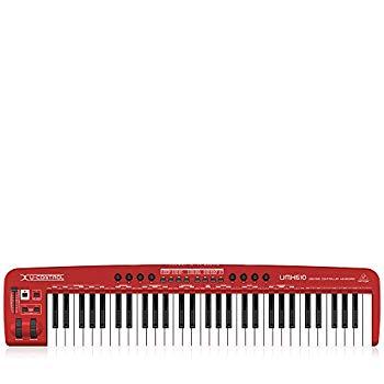 【中古】ベリンガー フルサイズ61鍵 USB/MIDIキーボード オーディオインターフェース付き U-CONTROL UMX610