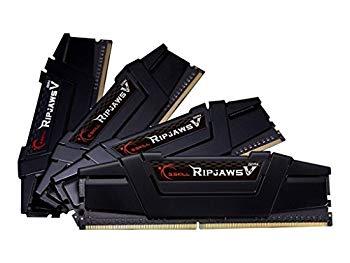 【中古】G。Skill 16 GB (4 x 4 GB) Ripjaws Vシリーズddr4 pc4 ? 25600 3200 MHz