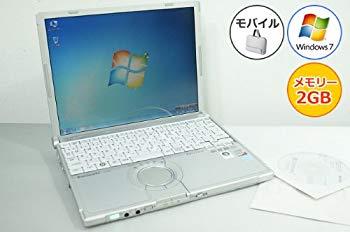 好評 中古 中古パソコン ノートパソコン Panasonic レッツノート CF-W8 Core2Duo-1.20GHz Windows7搭載 DVDスーパーマルチ 120GB 12.1型 2GB 1024x768 爆売りセール開催中
