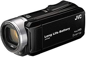 AL完売しました。 中古 ビデオカメラ GZ-F117 -B ハイビジョンメモリームービー Everio 好評 ブラック エブリオ