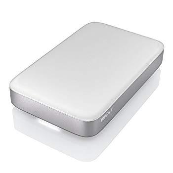 【中古】BUFFALO Thunderbolt&USB3.0用 ポータブルHDD 1TB HD-PA1.0TU3