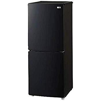 【中古】ハイアール 霜取り不要・3段引出し式冷凍室がひとり暮らしに便利! 148L冷凍冷蔵庫(ホワイト) ブラック JR-NF148A-K