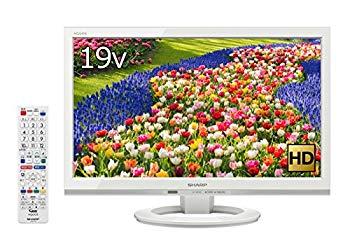 【中古】シャープ 24V型 液晶 テレビ AQUOS LC-24K40-W ハイビジョン 外付HDD対応(裏番組録画) ホワイト 2016年モデル
