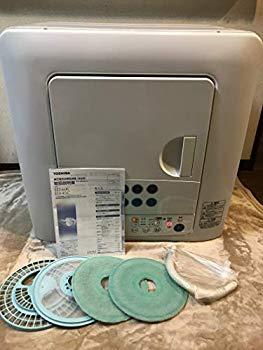 【中古】東芝 衣類乾燥機 ED-45C(W) 乾燥容量4.5kg ピュアホワイト