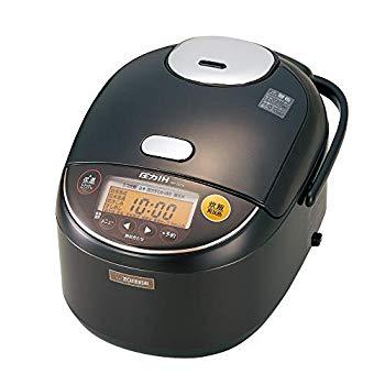【中古】象印 圧力IH炊飯器 極め炊き 黒まる厚釜 ダークブラウン 1升 NP-ZD18-TD