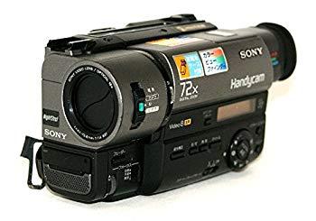 【中古】SONY ソニー CCD-TR280PK 8ミリビデオカメラ ハンディカム ナイトショット 液晶モニター非搭載機種