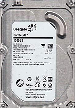 【中古】st1500dm003、z1e、TK、PN 1?ch16g-302、FW cc26、Seagate 1.5?TB SATA 3.5ハードドライブ