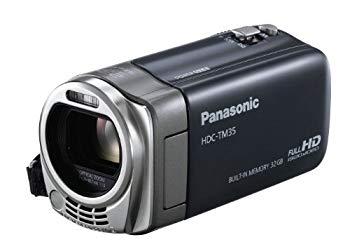 【中古】パナソニック デジタルハイビジョンビデオカメラ グレー HDC-TM35-H