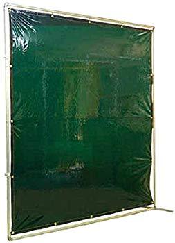 【中古】吉野 遮光フェンスアルミパイプ 2×2 接続固定 グリーン YS22JFG