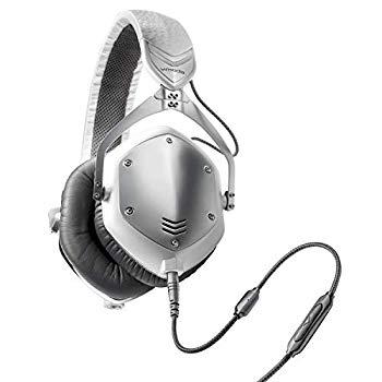 【中古】V - MODA Crossfade M - 100?over-ear noise-isolatingメタルヘッドホン M-100-U-WSILVER