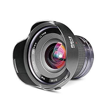 【中古】【国内正規品】 Meike 交換レンズ 広角レンズ MK 12mm F2.8 SONY Eマウント用 日本語取説付 19950001