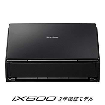 【中古】富士通 シートフィーダスキャナ ScanSnap ブラック FI-IX500A-P