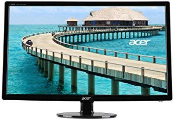 【中古】Acer S241HL bmid - LED monitor - 24