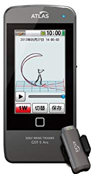 【中古】ユピテル(YUPITERU)ATLASゴルフスイングトレーナー NobmaruGST-5Arc