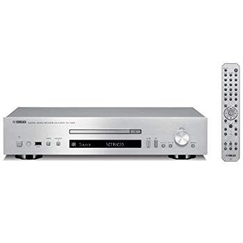 【中古】ヤマハ ネットワークCDプレーヤー ハイレゾ音源対応 シルバー CD-N500(S)