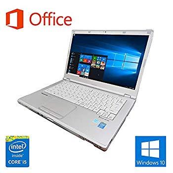 中古 Microsoft Office 2016搭載 新品SSD240GB Win 10搭載 Panasonic 舗 i5-4310U 期間限定送料無料 CF-LX3 第四世代Core 1.9GHz DVD メモリー8GB 新品SSD:240GB