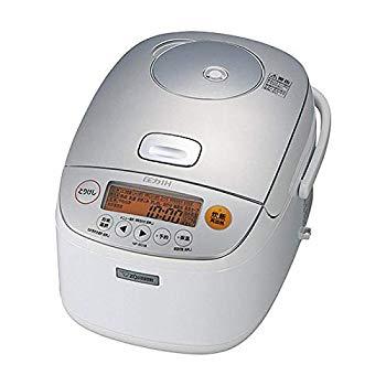 【中古】象印 炊飯器 圧力IH式 鉄器コート 1升炊き ホワイト NP-BG18-WA
