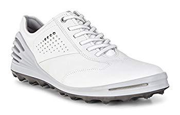 【中古】[エコー] ゴルフシューズ GOLF CAGE PRO メンズ WHITE EU 45(28.5 cm) 3E