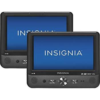 中古 Insignia 9 Dual スピード対応 全国送料無料 Screen Portable Players Disc DVD 最安値 by