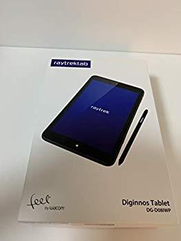 【中古】raytrektab DG-D08IWP 筆圧感知ペン付き8インチタブレット