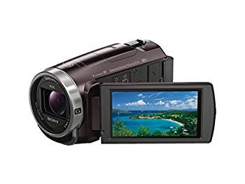 【中古】ソニー SONY ビデオカメラHDR-CX675 32GB 光学30倍 ボルドーブラウン Handycam HDR-CX675 T