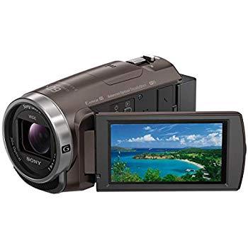 【中古】ソニー SONY ビデオカメラ Handycam 光学30倍 内蔵メモリー64GB ブロンズブラウンHDR-CX680 TI
