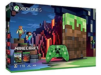 【中古】Xbox One S 1TB Minecraft リミテッド エディション (23C-00017)