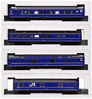 【中古】KATO HOゲージ 24系 寝台特急 北斗星 基本 4両セット 3-515 鉄道模型 客車