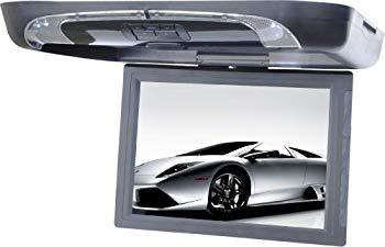 【中古】Tview T1591DVFD-GR 15-Inch Flip Down with Built-in DVD Player (Gray) by T-View