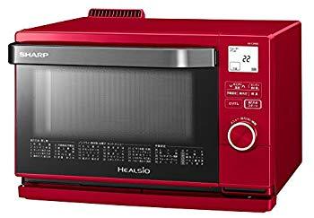 【中古】シャープ スチームオーブン ヘルシオ(HEALSIO) 18L 1段調理 レッド AX-CA400-R
