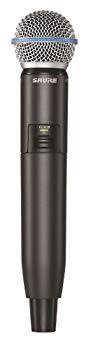 【中古】SHURE ワイヤレスマイク ハンドヘルド型 送信機 GLXD2/BETA58 【国内正規品】