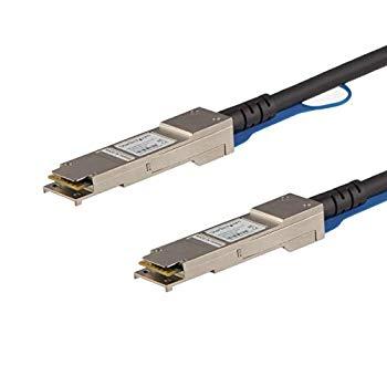 【中古】StarTech.com QSFP+ DAC Twnax ケーブル 10m Cisco製QSFP-H40G-ACU10M互換 アクティブダイレクトアタッチケーブル QSFPH40GAC10
