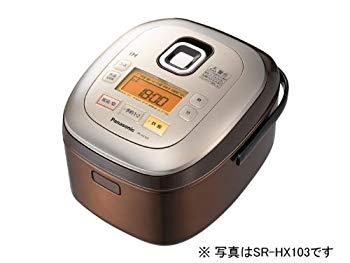 【中古】パナソニック 1升 炊飯器 IH式 ブラウン SR-HX183-T