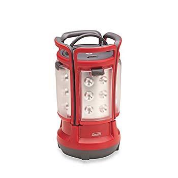 【中古】Colemanクアッド電池式LEDランタン