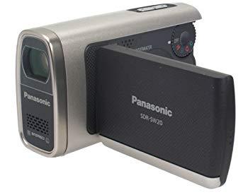 【中古】Panasonic 水深1.5m・30分までの防水機能搭載のSDビデオカメラ SDR-SW20-S