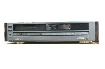 【中古】SONY EDベータビデオデッキ ソニー EDV-6000 リモコン取説付き シリアルNo.802799  22122