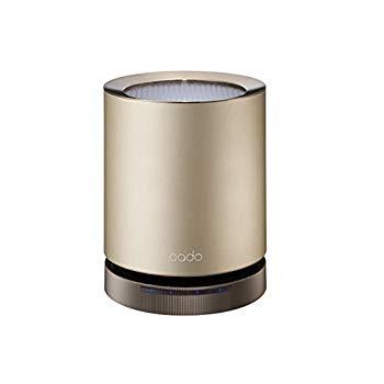 【中古】カドー PM2.5対応空気清浄機(12畳まで ゴールド)cado AP-C110-GD