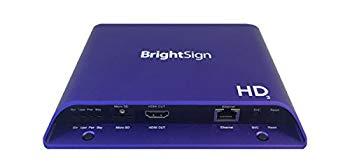 【中古】Brightsign、フルHD、Mainstream html5?Player with Standar I/Oパッケージ