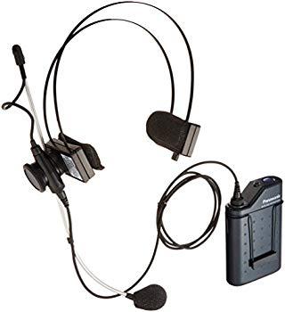 【中古】パナソニック 800 MHz帯PLLヘッドセット形ワイヤレスマイクロホン WX-4360B
