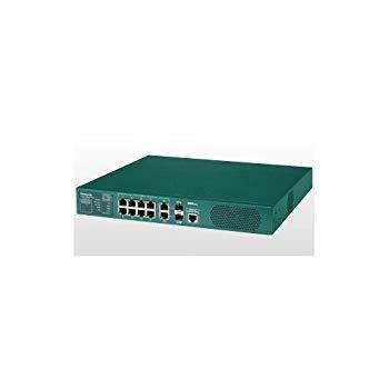 【中古】パナソニックESネットワークス PoE Plus対応 8ポートL2スイッチングハブ Switch-M8eGPWR+ PN28089K