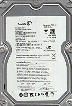 【中古】st3500320as、9qm、kratsg、PN 9bx154???305、FW sd1?a、Seagate 500?GB SATA 3.5ハードドライブ