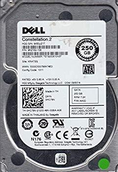 【中古】st9250610ns、9?x E、kratsg、PN 9rz162???136、FW aa0d、Dell 250?GB SATA 2.5ハードドライブ