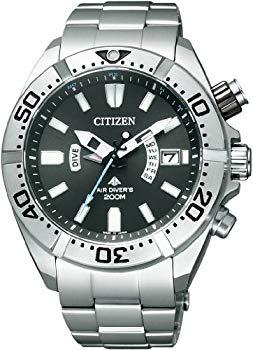 【中古】[シチズン]CITIZEN 腕時計 PROMASTER プロマスター エコ・ドライブ 電波時計 マリンシリーズ 200m ダイバー PMD56-3081 メンズ
