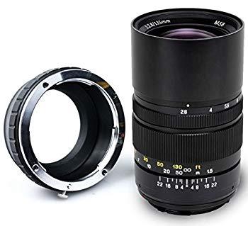 【中古】Oshiro 135?mm f / 2.8?LD UNC ALフルフレームPrime望遠レンズfor Nikon 1?j5? j4? j3? j2? s2? s1? v3? v2? v1、aw1コンパクトミラーレスデジタ