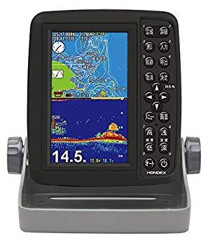 中古 HONDEX ホンデックス 売り込み 魚群探知機 GPS内蔵 5型ワイド 本日の目玉 ポータブルGPSプロッター魚探 PS-611CN